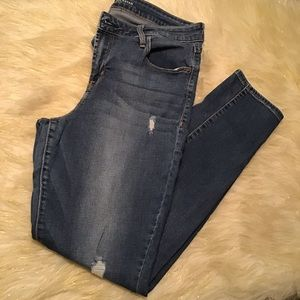 *Old Navy* Rockstar high rise skinny jeans size 12